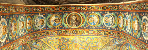 Jesus and his disciples Stock Images