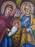 Jesus Icon Stockfotos