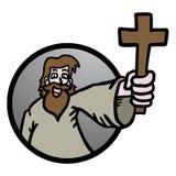 Jesus icon Stock Image