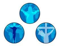 Jesus icon Royalty Free Stock Photography