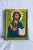 Jesus-Ikone Stockfotografie