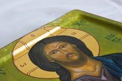 Jesus-Ikone Lizenzfreie Stockfotos