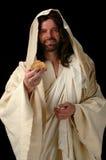 Jesus il pane di vita immagine stock libera da diritti