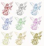Jesus illustration Stock Photos