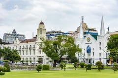 Jesus Immanuel Baptist Church, Rangoon (Rangoon), Myanmar (Birmania) immagine stock libera da diritti