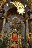 Jesus infantil de Praga (Checo: Tko do ¡ de Jezulà do ské do ¾ de PraÅ;) Fotografia de Stock Royalty Free