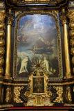 Jesus infantil de Praga (Checo: Tko do ¡ de Jezulà do ské do ¾ de PraÅ;) Imagens de Stock
