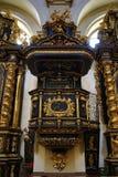 Jesus infantil de Praga (Checo: Tko do ¡ de Jezulà do ské do ¾ de PraÅ;), igreja de nossa senhora Imagem de Stock