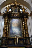 Jesus infantil de Praga (Checo: Tko do ¡ de Jezulà do ské do ¾ de PraÅ;), igreja de nossa senhora Fotografia de Stock