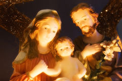 jesus joseph mary Royaltyfri Bild