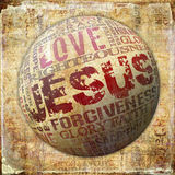 Jesus klosterbroderbakgrund Royaltyfria Bilder