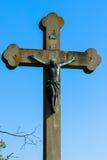 Jesus-Kreuz Stockfoto