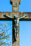 Jesus-Kreuz Lizenzfreie Stockfotos