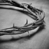 Jesus Kristuskrona av taggar Royaltyfri Bild