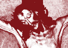 Jesus kruisigde Royalty-vrije Stock Foto's