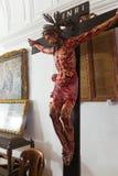 Jesus kruisigde Stock Afbeeldingen
