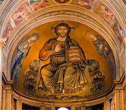 Jesus - Light of the wolrd - Pisa Cathedral, Duomo detail Stock Photo