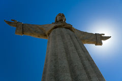 Jesus. This is the Jesus at Lisbon Royalty Free Stock Image