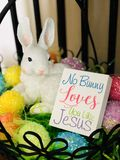 Jesus lo ama fotografie stock libere da diritti