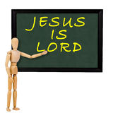 Jesus is lord Stock Image