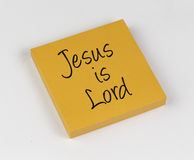 Jesus is Lord Royalty Free Stock Photo