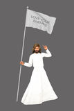 Jesus Love Your Enemies Illustration Fotografía de archivo