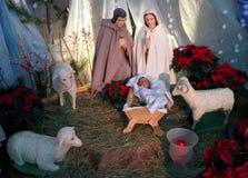 Jesus, Mary e Joseph Fotografia Stock Libera da Diritti