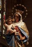 jesus mary oskuld Fotografering för Bildbyråer