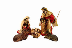 Jesus met Mary en Joseph Royalty-vrije Stock Foto's