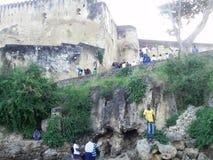 Jesus Mombasa forte Fotografia Stock Libera da Diritti