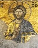 jesus mosaik Arkivfoton