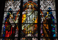 Jesus, Moses och Isaiah Arkivfoton