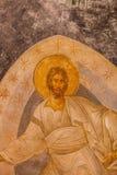 Jesus Mural nella chiesa di Chora fotografia stock