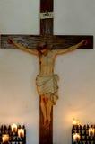 Jesus na cruz 2 Imagem de Stock