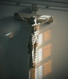 Jesus na cruz Fotografia de Stock Royalty Free