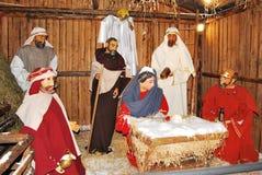Jesus nasce Immagine Stock