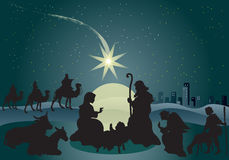 Jesus nativity Royalty Free Stock Images