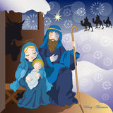 Jesus nativity Stock Image