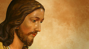 Jesus of Nazareth or Jesus Christ central figure of Christianity Royalty Free Stock Images