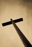 Jesus old cross Royalty Free Stock Photo