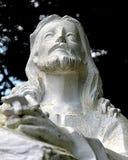 Jesus op het onderstelstandbeeld Stock Afbeelding