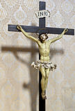 Jesus op kruis Royalty-vrije Stock Afbeeldingen