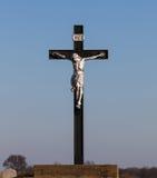 Jesus op kruis Royalty-vrije Stock Foto's