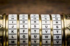 Jesus ord som lösenord arkivbild