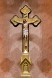 Jesus på kors Arkivbilder