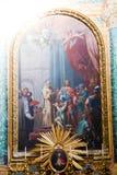 Jesus Painting - Rome royalty-vrije stock foto