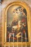 Jesus Painting, Vatikaan stock fotografie