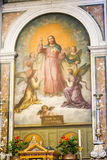 Jesus Painting, Vatikaan stock afbeeldingen