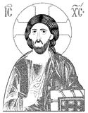 Jesus pantocrator Royalty Free Stock Photos