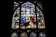 Jesus passion in the cathedral Stock Photography